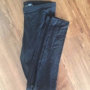 21+ black leggings